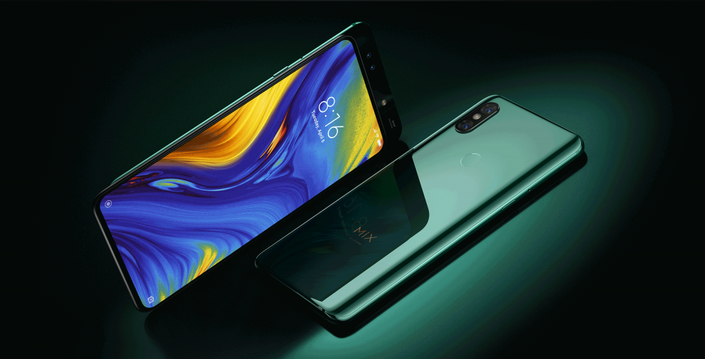 Jade Green Mi Mix 3